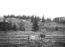 Setervollen med bebyggelse på Holoa seter, Hadeland, Jevnake