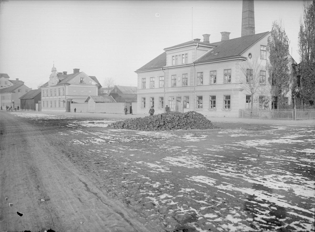 Östra Ågatan - Hamnesplanaden, Kungsängen, Uppsala 1901 - 1902