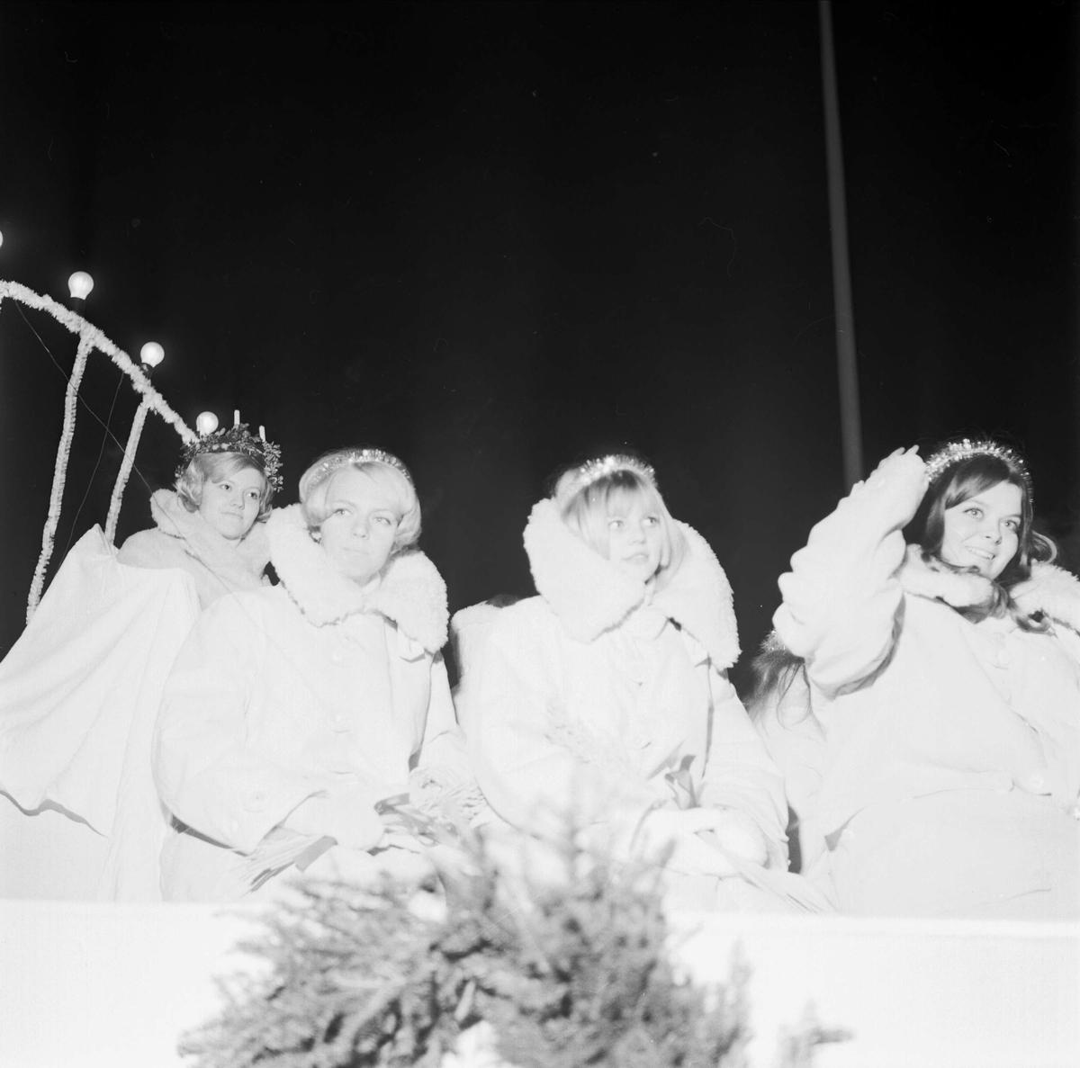 Tierps lucia, Tierp, Uppland december 1967