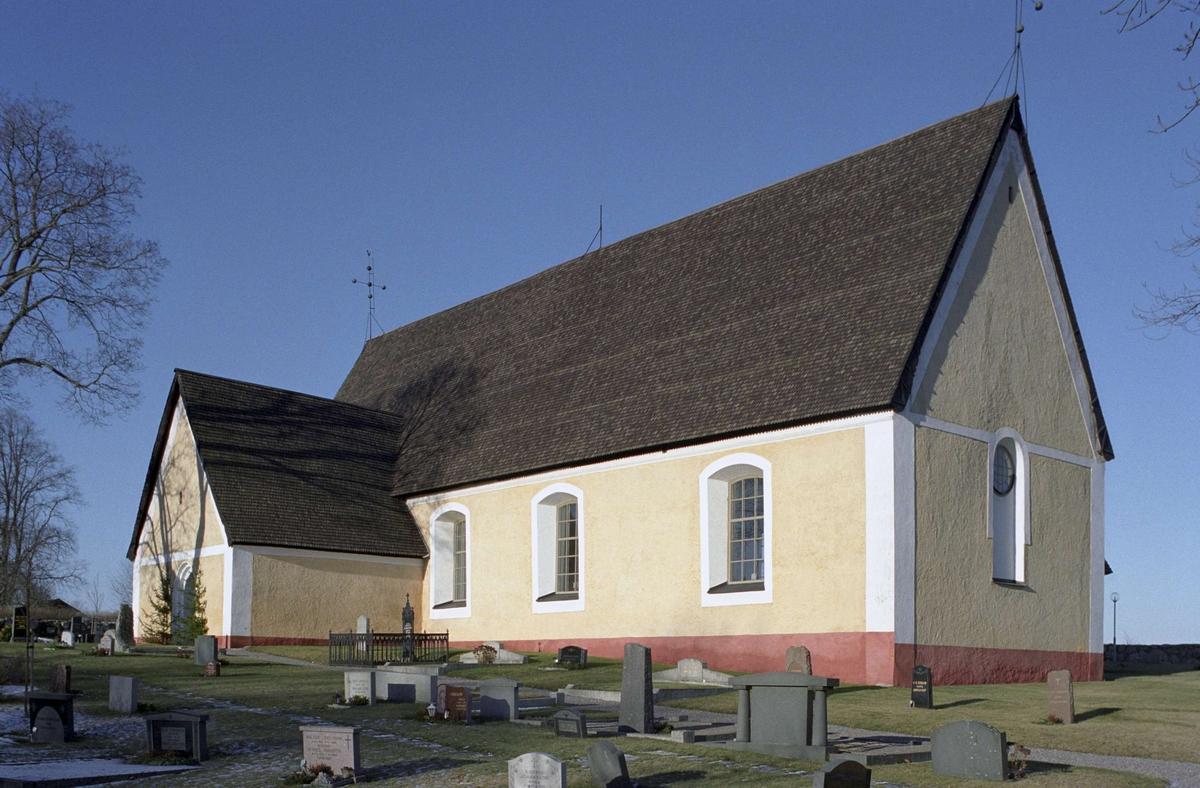 Boglösa kyrka, Uppland 1997