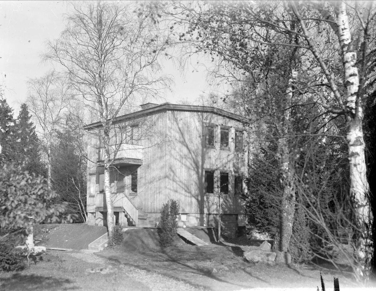 Bostadshus, sannolikt Uppsala, Uppland oktober 1934