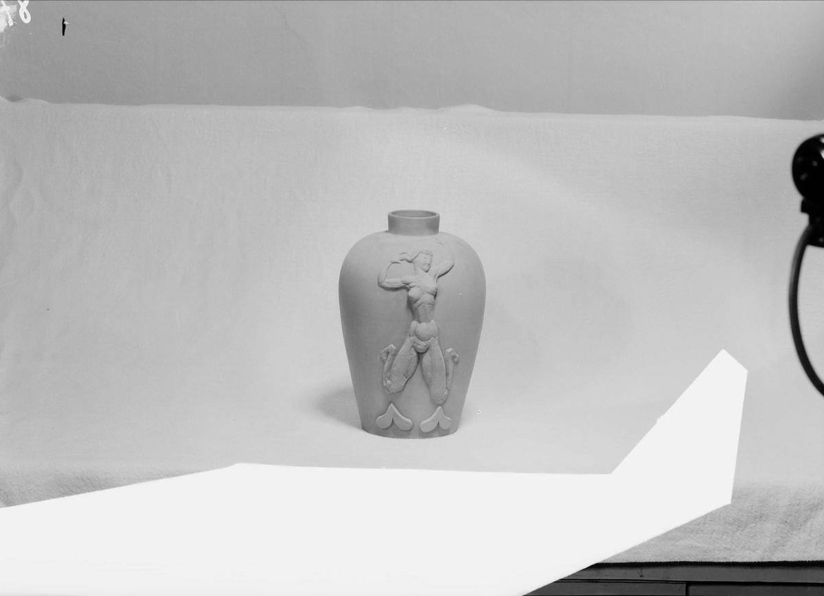 Keramikvas från Upsala-Ekeby AB, Uppsala