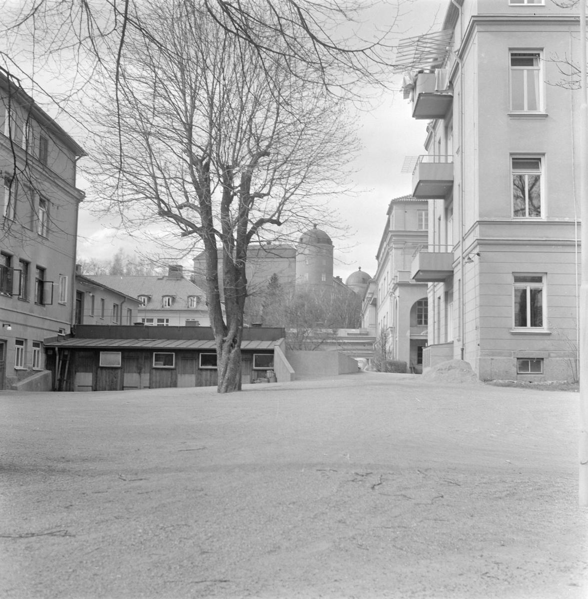 Sjuksköterskehem vid Akademiska sjukhuset, kvarteret Sjukhuset, Fjärdingen, Uppsala 1958