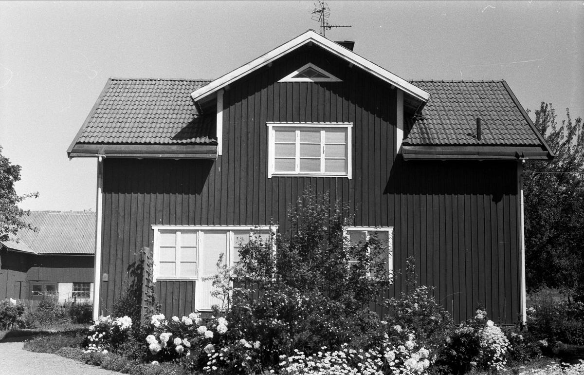 Bostadshus, Drälinge 1:4, Björklinge socken, Uppland 1976