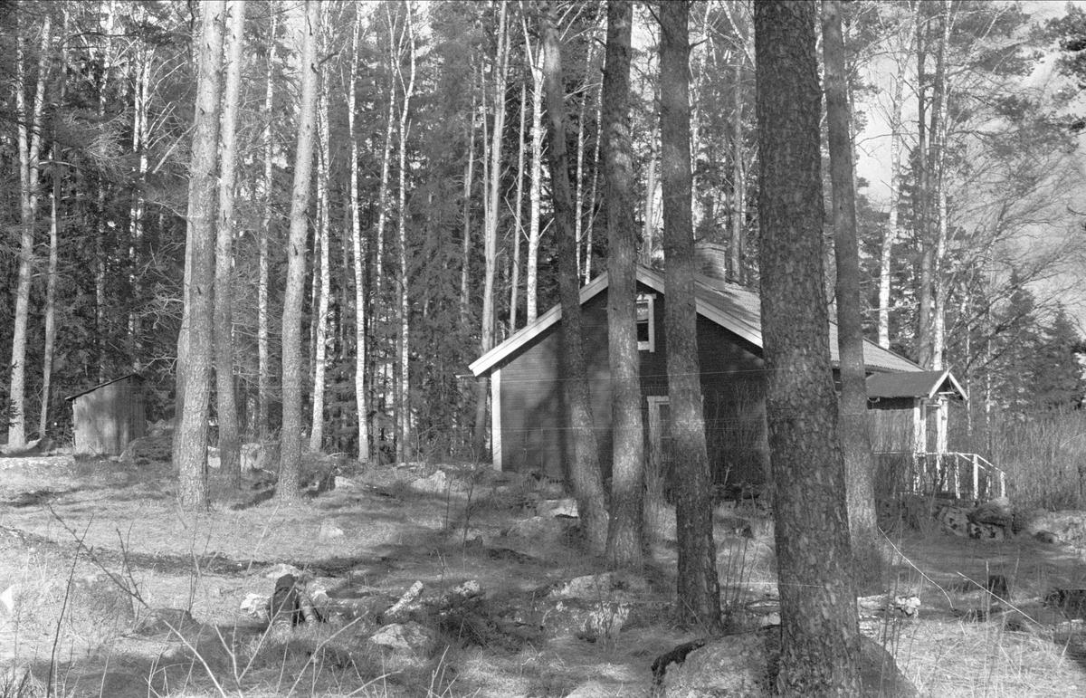 Vy över Östa 10:1, Ärentuna socken, Uppland 1977