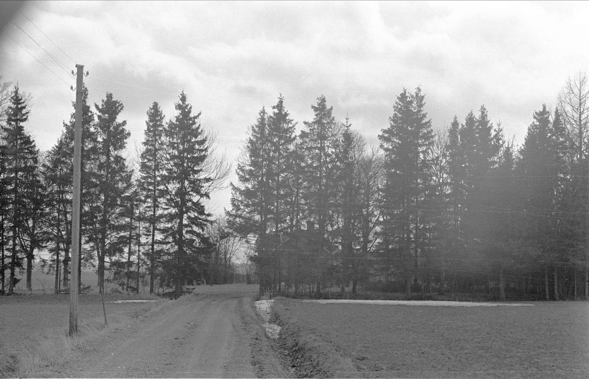 Vy över Skällsta 2:1, Ärentuna socken, Uppland 1977