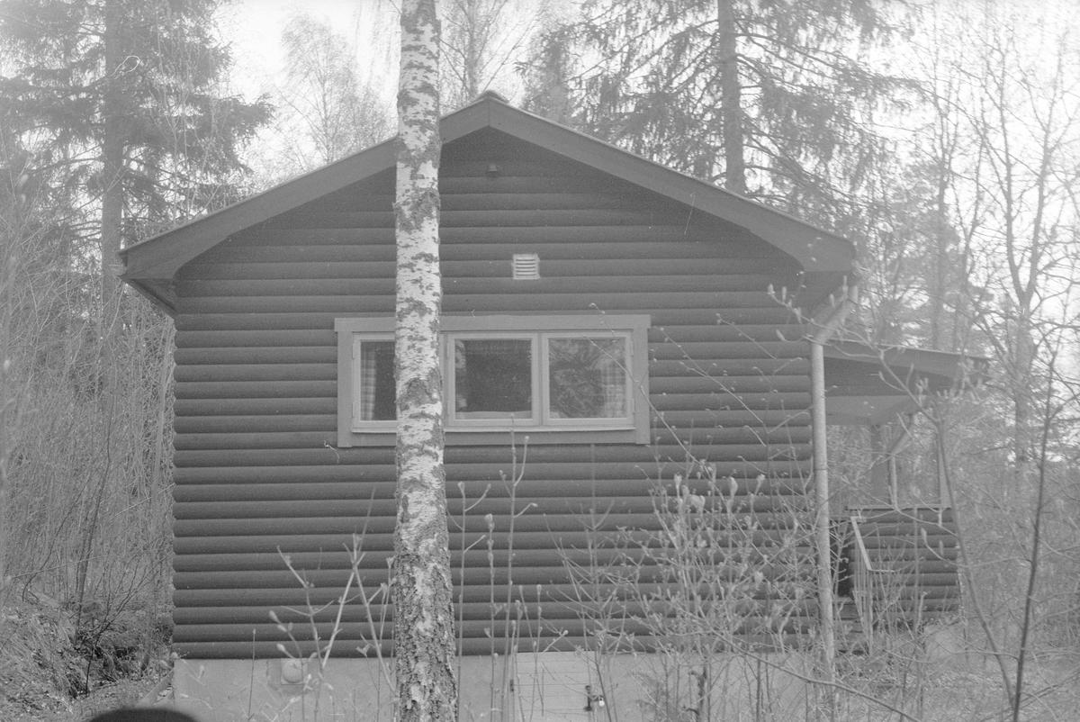 Sommarstuga, Edshammar 2:9, Granängen, Lena socken, Uppland 1977