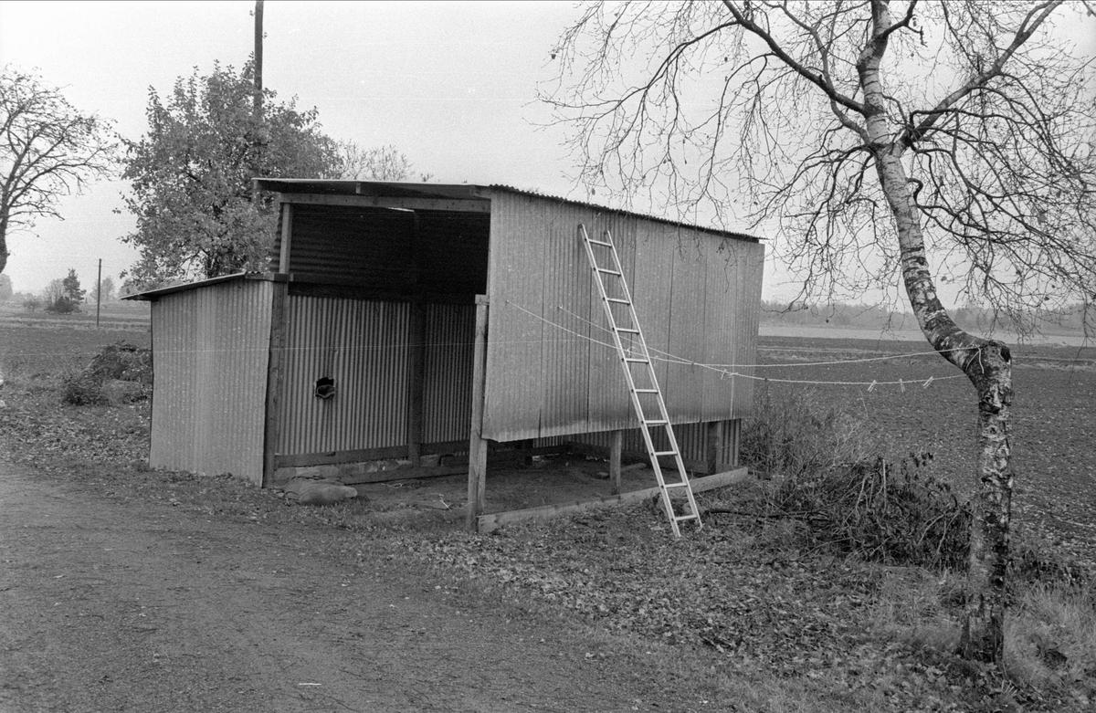Skjul, Fullerö 16:4, Gamla Uppsala socken, Uppland 1978