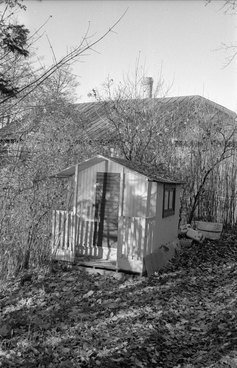 Lekstuga, före detta Ensta sämskfabrik, Ensta, Gamla Uppsala socken, Uppland 1978