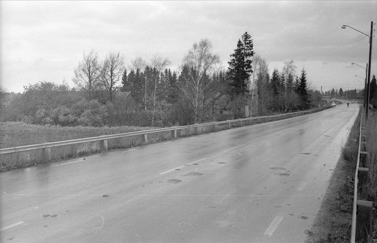 Vy från norr över Gamla Uppsala 77:7 och 77:9, Gamla Uppsala socken, Uppland 1978