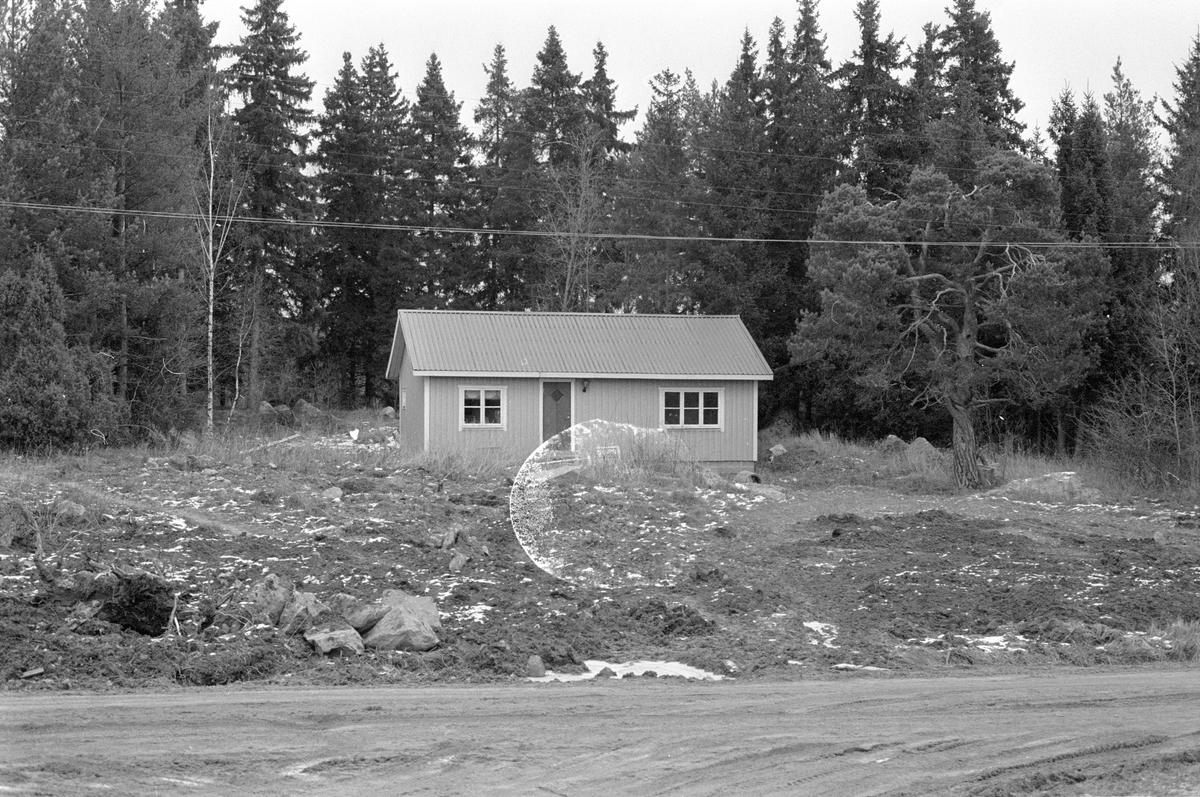 Bostadshus, Hagby-Forsa 1:29, Hagby socken, Uppland 1985