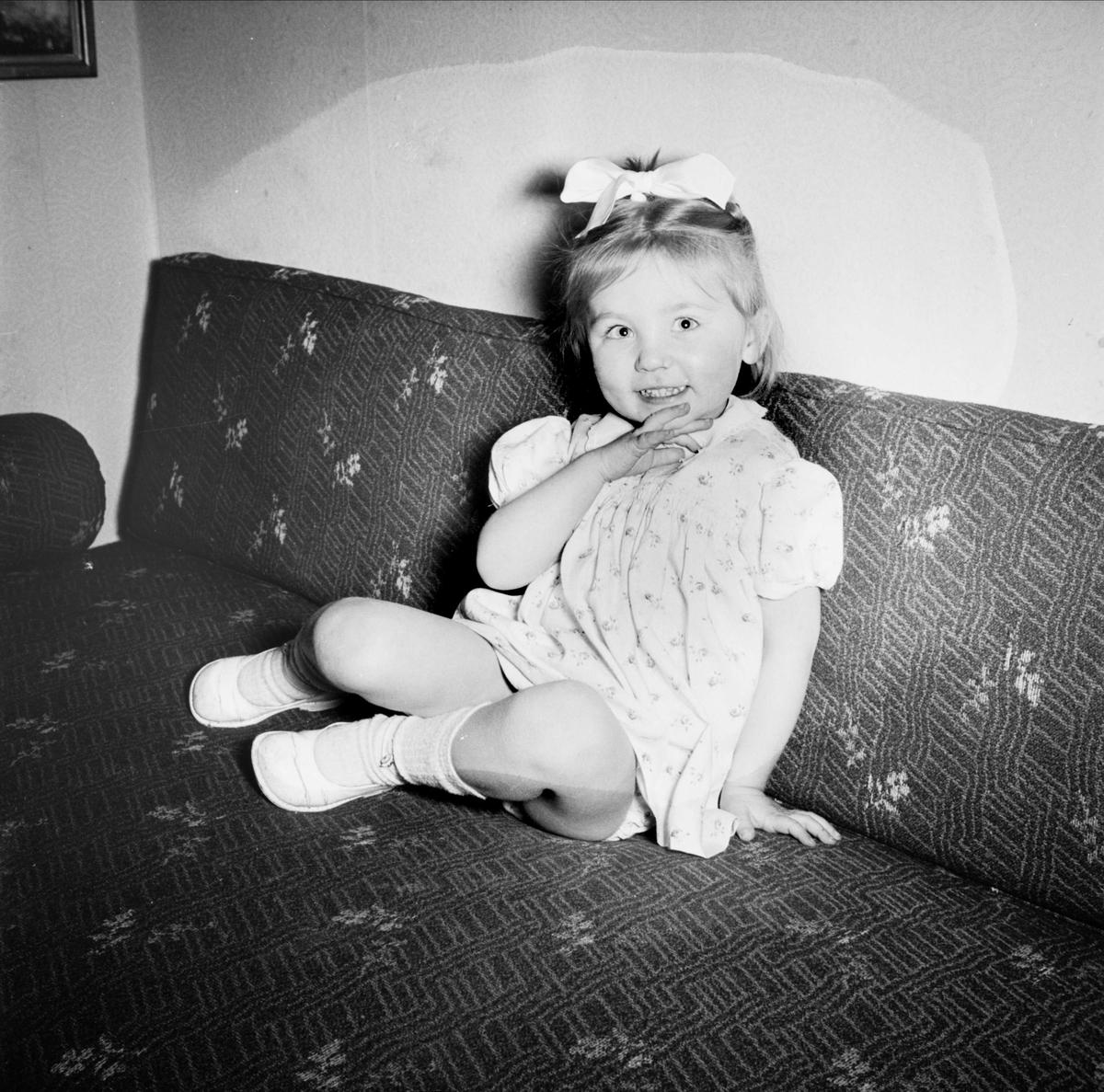 Konstnären Lars Finns dotter, Uppsala 1947