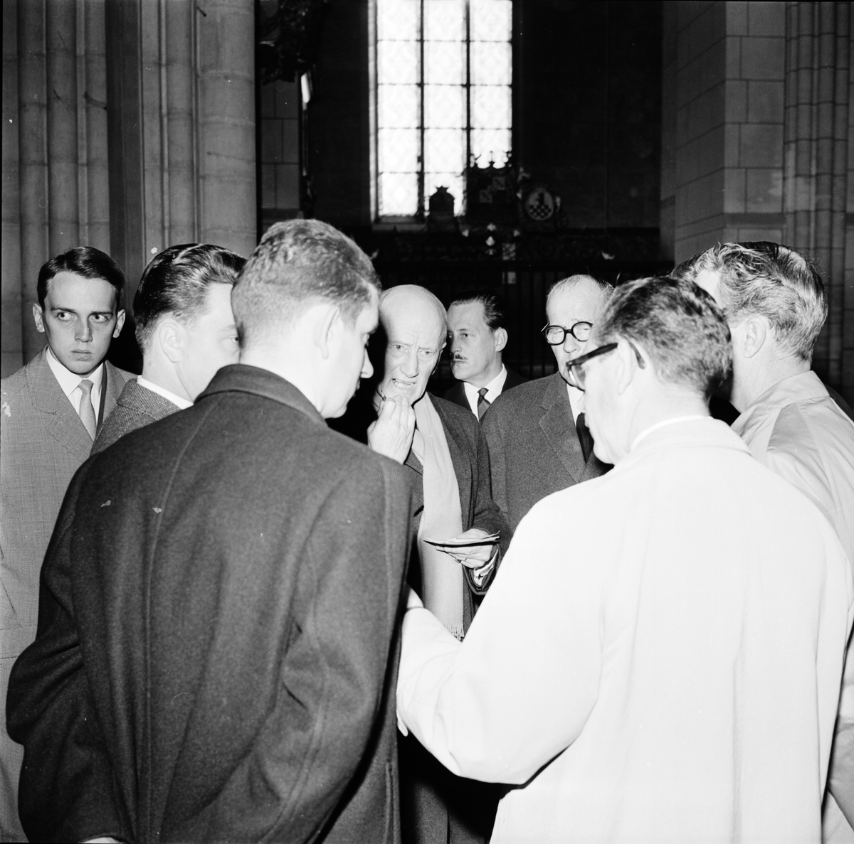 Dag Hammarskjölds begravning. Förberedelser och efterdyningar. Uppsala september 1961