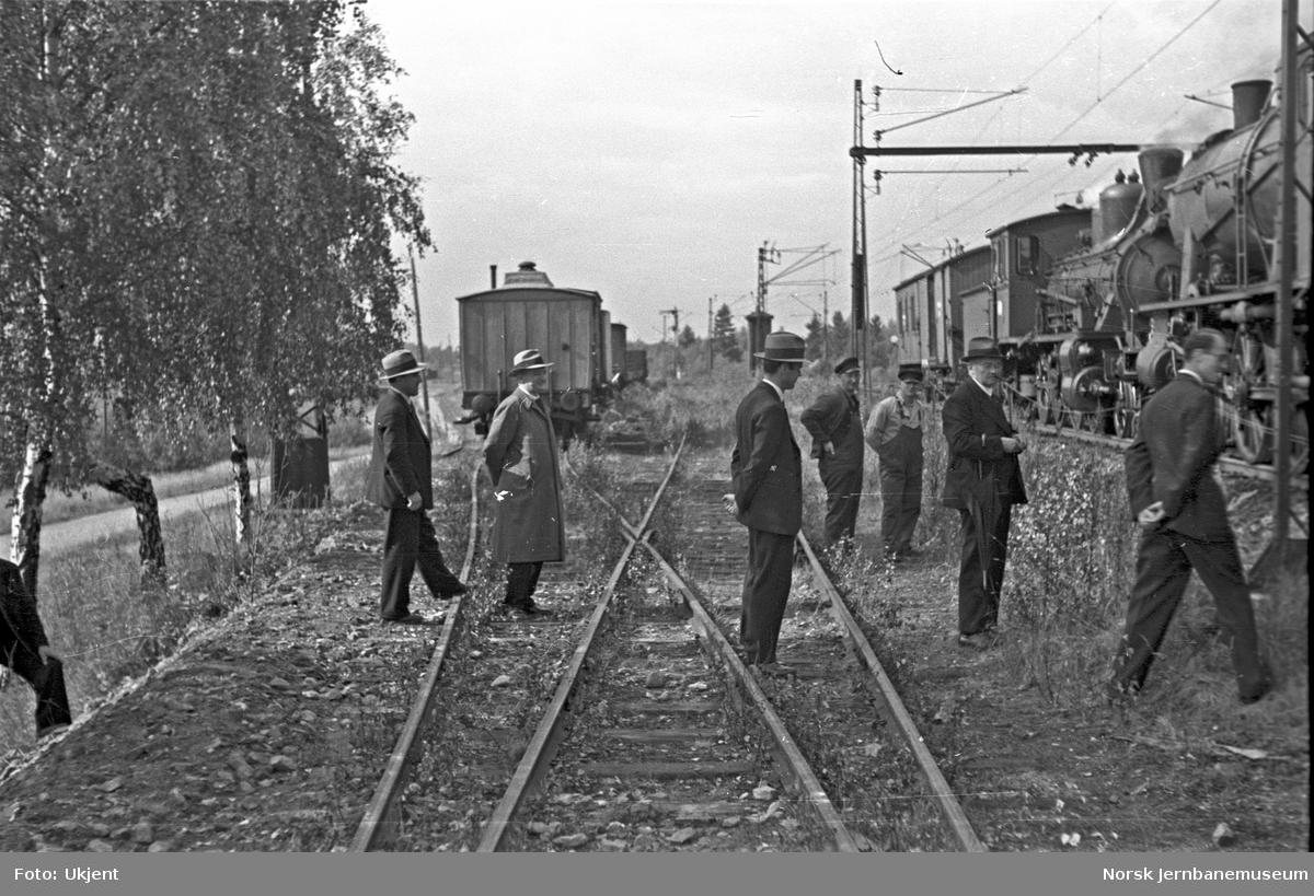 Avsporede godsvogner på Grorud stasjon