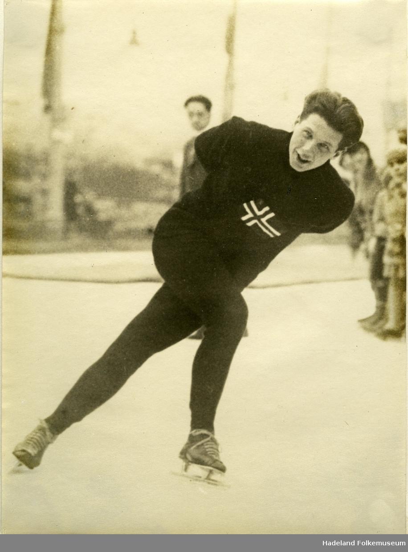 Skøyteløper Michael Staksrud