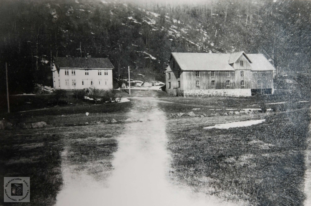 Gården Langehaugen, Ågedal i Bjelland, nå Audnedal.
