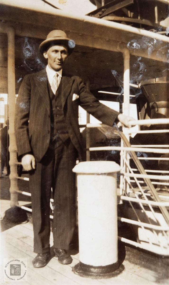 Amerikafareren Johan Helle fra Konsmo som utvandret til Canada.