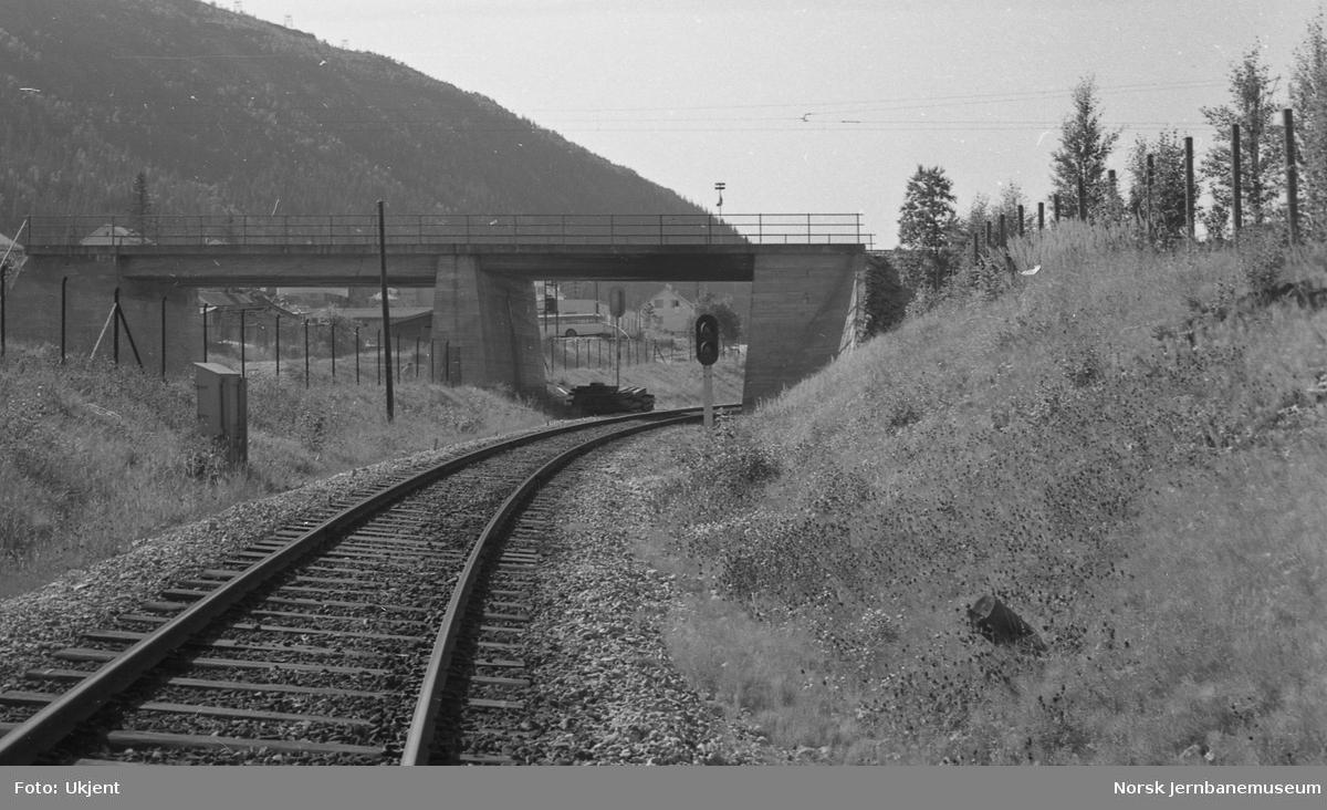 Jernverksbanens bru over Nordlandsbanen
