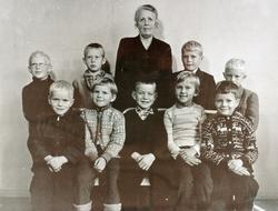 Byremo barneskole, 1. og 2. klasse. Grindheim senere Audnedal.