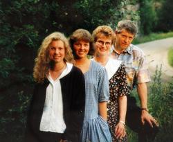 Familiebilde Håland med røtter i Audnedal Birkenes.
