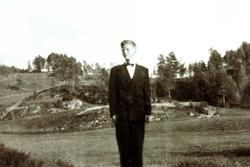 Konfirmant Torkjel Bransdal. Grindheim Audnedal.