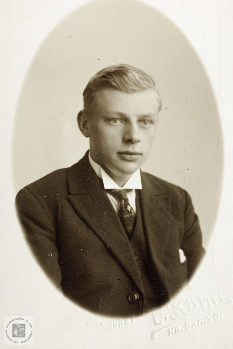 Portrett av Herman Flåt.