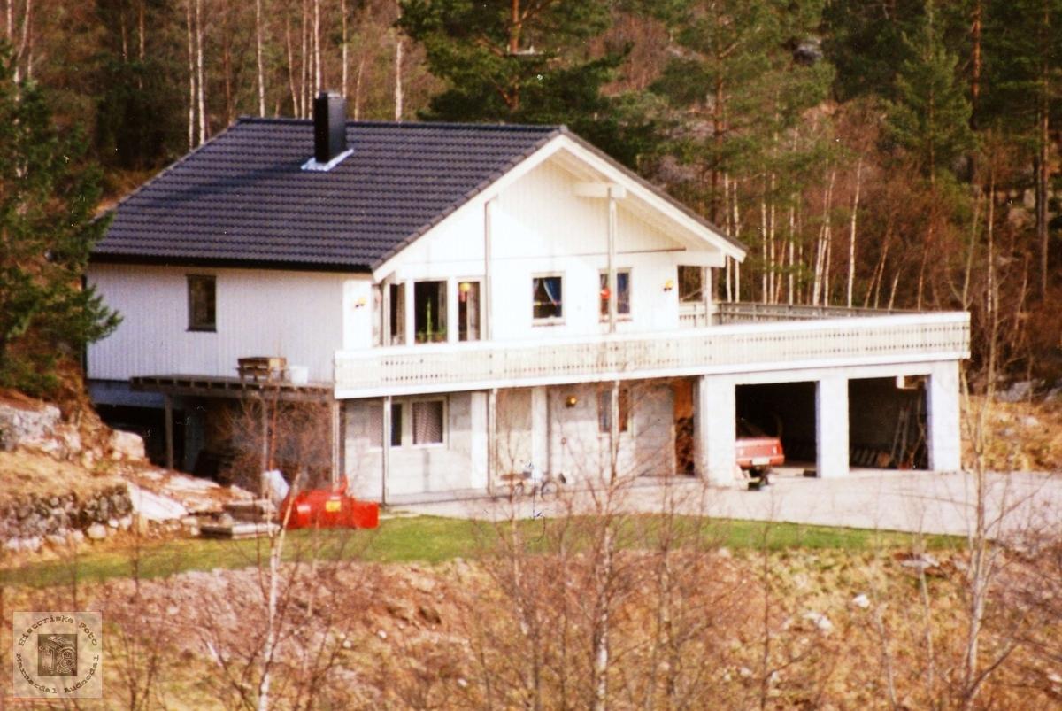 Nytt hus i Bruneset på Flottorp. Audnedal.