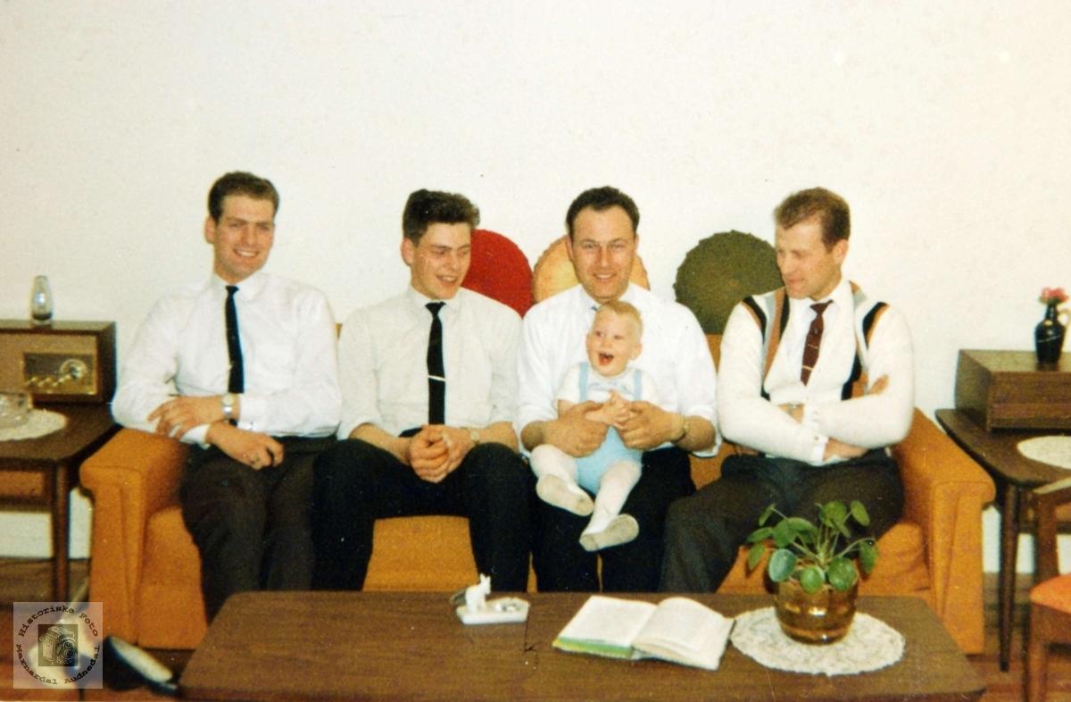 Søskenbarn fra Håland og Flottorp samlet i USA. Med røtter i Grindhiem Audnedal.