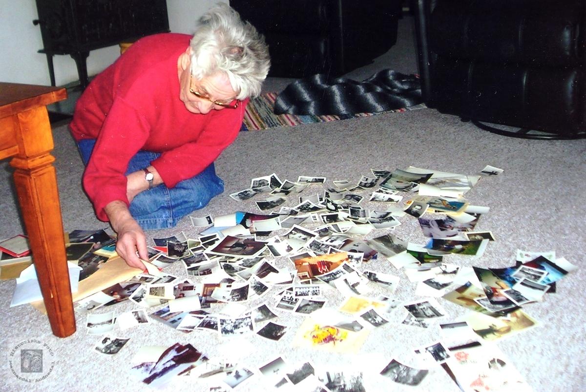 Effektiv metode for utvelgelse av bilder til samlingen Historiske Foto-Audnedal.
