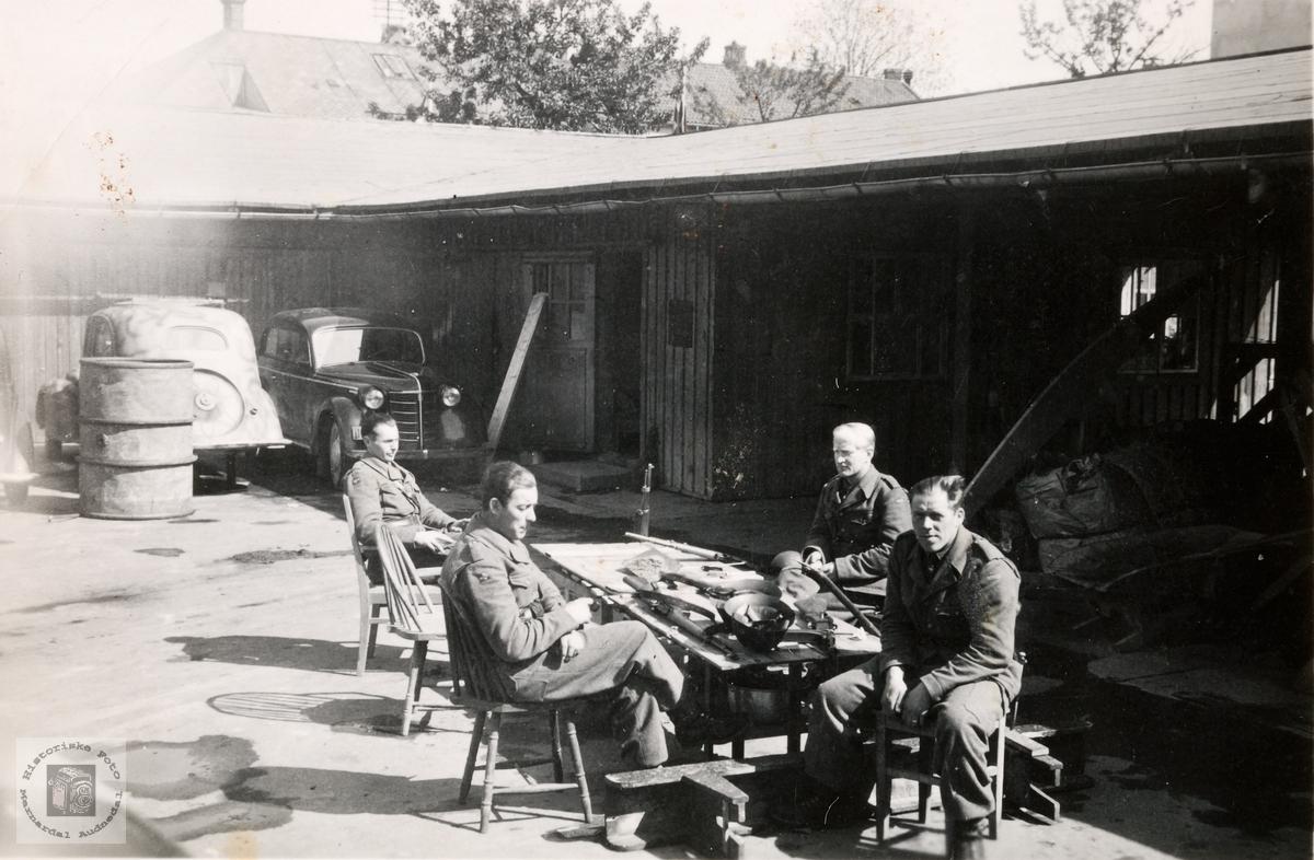 Fredsåret 1945 i Trondheim.