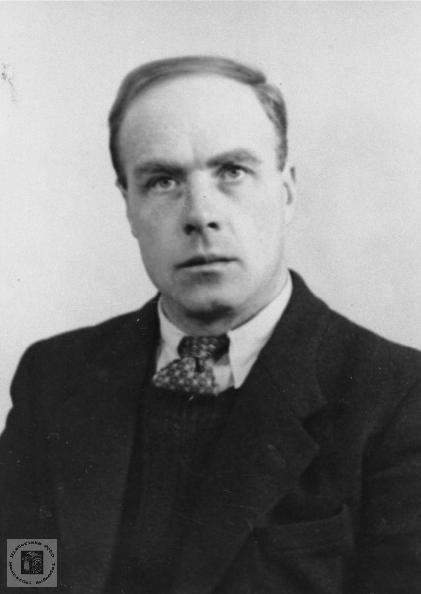 Portrett av Olav Stedjan, Bjelland.