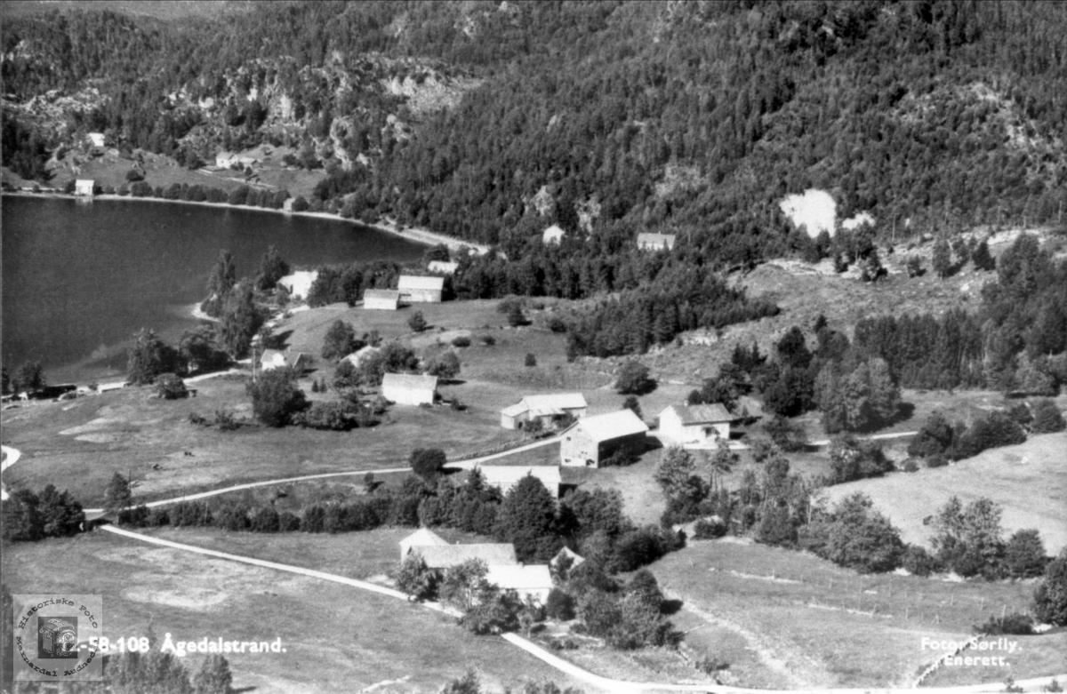 Ågedalstrand i Bjelland senere Audnedal.