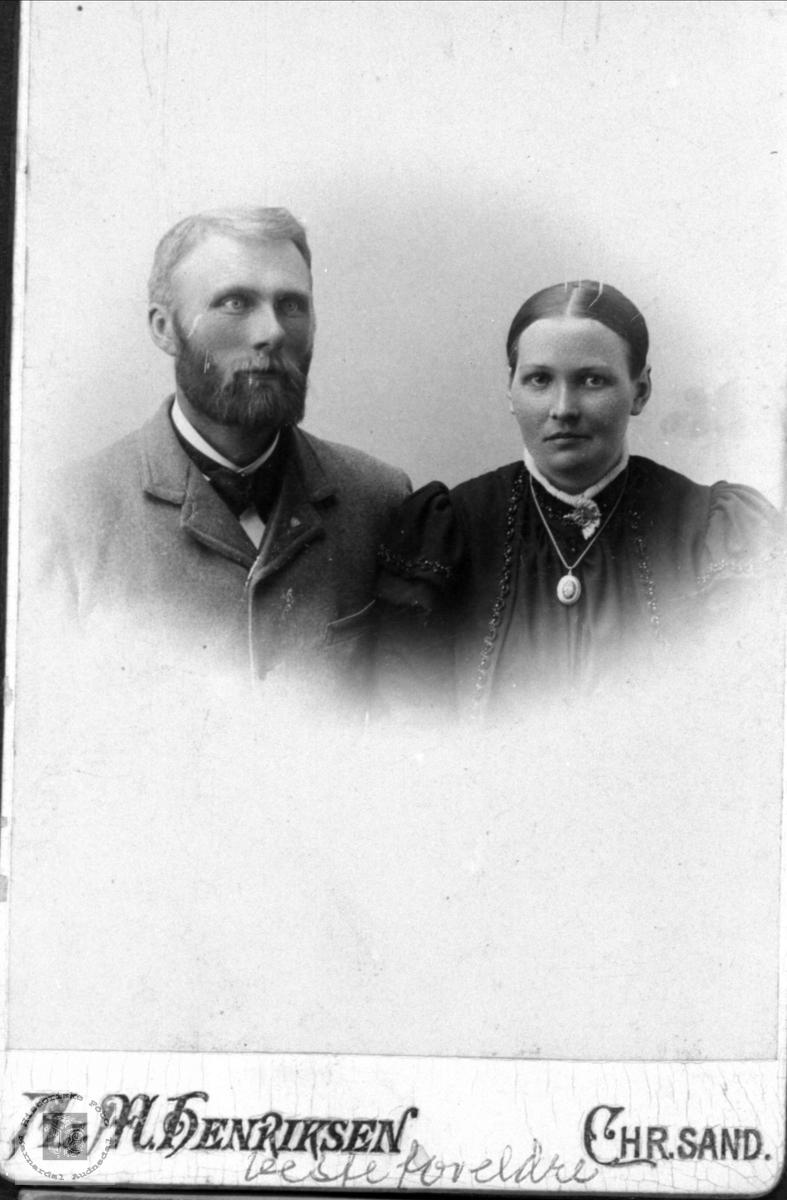Ekteparet Brunvatne, Øyslebø.