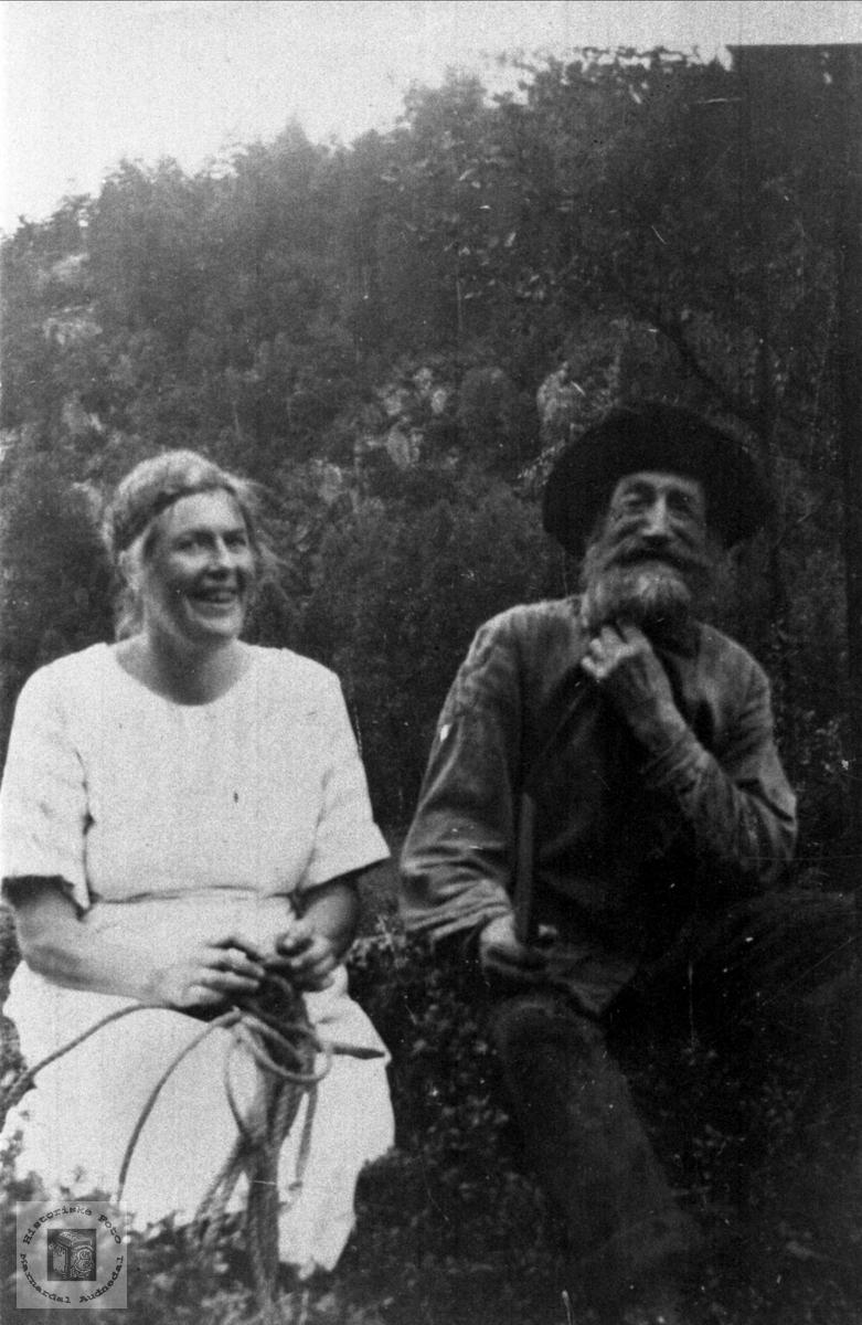Far og datter Hunsdal