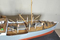 Modell av fartøy
