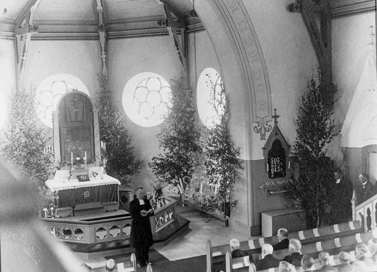 Invigning av Pontus Wiknermuseet i Valbo Ryrs kyrka
