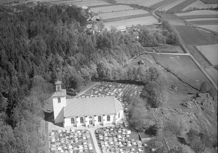 """Enligt AB Flygtrafik Bengtsfors: """"Stenkyrka kyrka Bohuslän"""".        ::"""