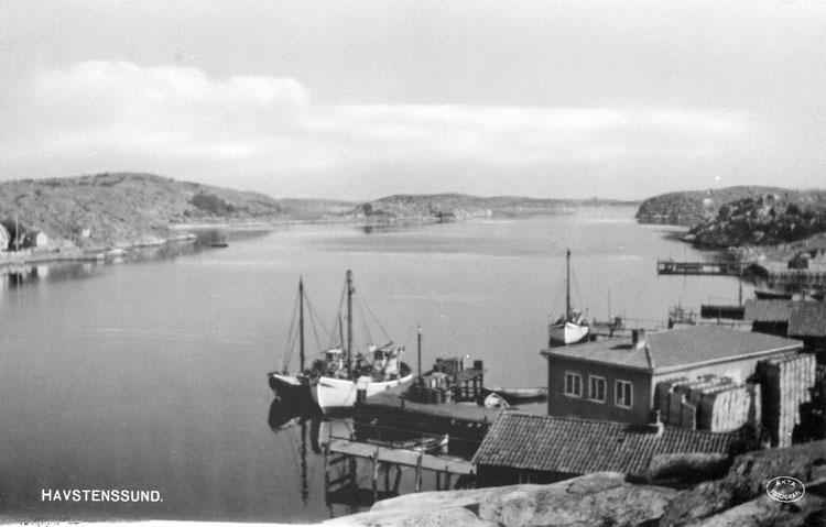 """Enligt text på fotot: """"Havstenssund""""."""