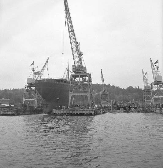 Sjösättning av 120 M/T Bittencourt Sampaio.