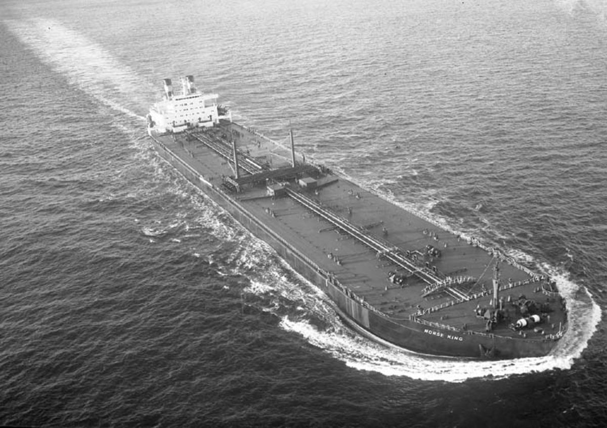 T/T Norse King DWT. 228.100 Rederi Odd Godager & Co., Oslo Kölsträckning 69-11-20 Nr. 234 Leverans 70-11-10 Tankfartyg