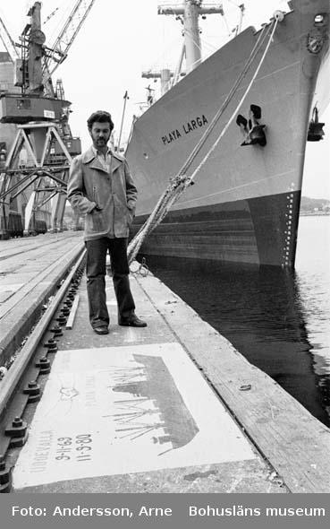 Fartyg 233 M/S Playa Larga Uddevalla hamn.