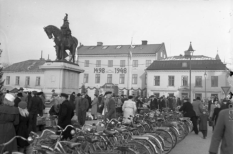 """Enligt notering: """"Uddevalla Jubilet. 18/12 1948.""""."""