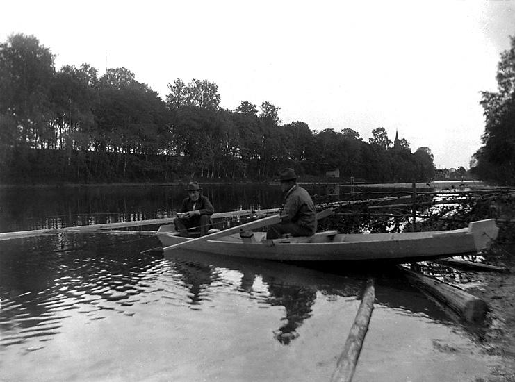 På Norsälven, 1926.
