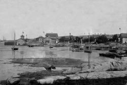 Vy över Koön, Marstrand
