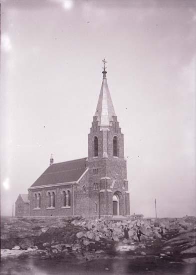"""Enligt text som medföljde bilden: """"Kyrkan Smögen Maj 07""""."""