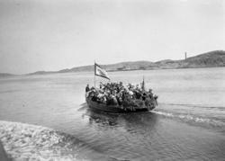 """Enligt text som medföljde bilden: """"Motorbåt"""". ::"""