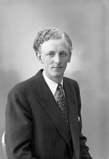 "Enligt fotografens journal nr 7 1944-1950: ""Andersson, Herr Gustaf Stenungsund""."