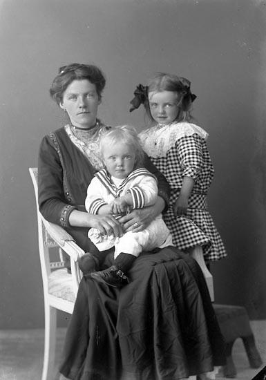 """Enligt fotografens journal nr 3 1916-1917: """"Johansson, Karl, Kättorp, Hjälteby""""."""