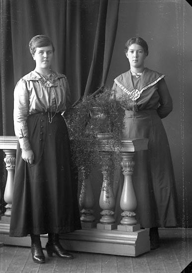 """Enligt fotografens journal nr 4 1918-1922: """"Karlsson, Annie Strandnorum Här""""."""