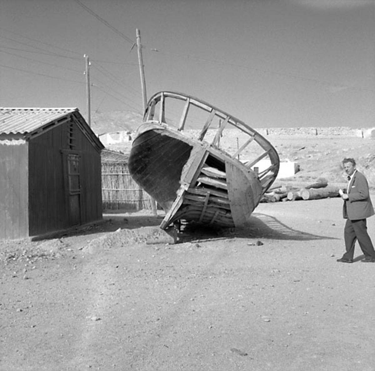 41. Spanien. Fotojournal finns på B.M.A. + fotoalbum. Samtidigt förvärv: Böcker och arkivmaterial. Foton tagna 1959-11-12. 12 Bilder i serie.